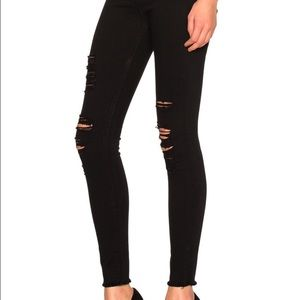 FRAME Le High Skinny Jeans in Film Noir Size 31